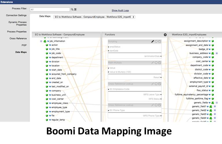 Employee Central Integration With Boomi - Sap data mapping