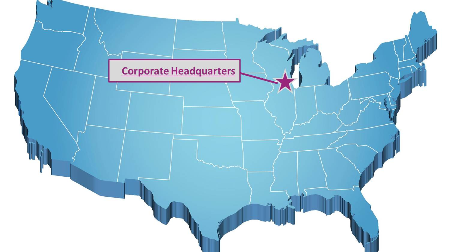 3d Map Of Us.Hypercision Is A Sap Hcm Learning And Talent Management Company